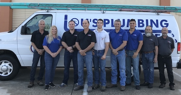 Lous-Plumbing-Daytona-Area-Team Home